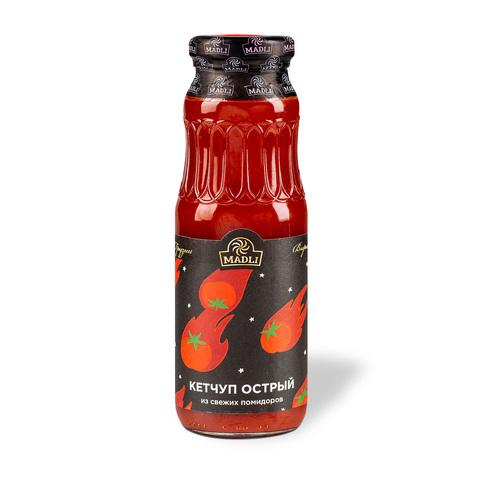 Кетчуп томатный из свежих помидоров острый