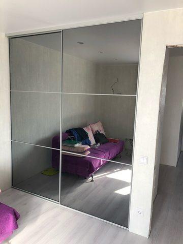 Встроенный шкаф - купе на заказ