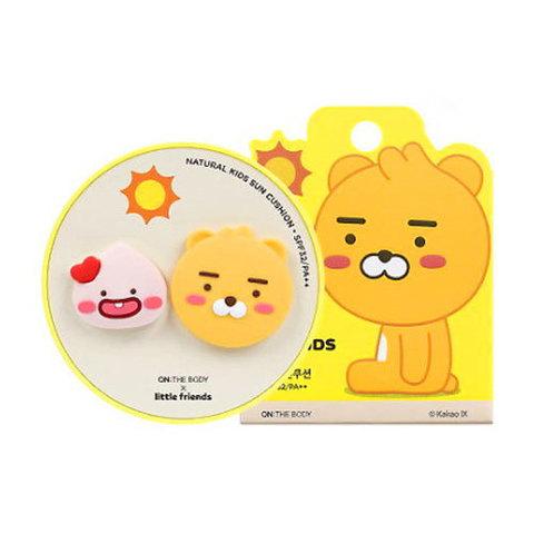 Кушон CHARACTER WORLD Kakao Friends Natural Kids Sun Cushion SPF32 PA++ 15g