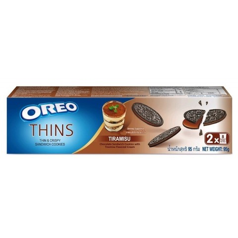 Oreo Thins Tiramisu  Орео тонкие тирамису 95 гр