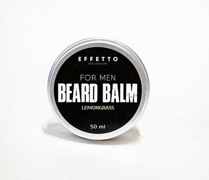 CARE181-2 Бальзам для бороды EFFETTO «Lemongrass» (50 мл)