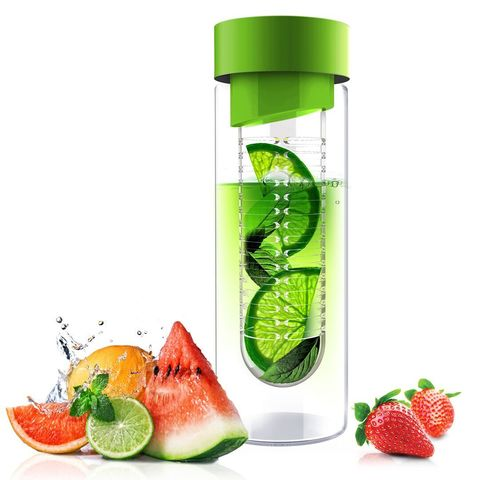 Бутылка Asobu Flavour it (0,6 литра), зеленая