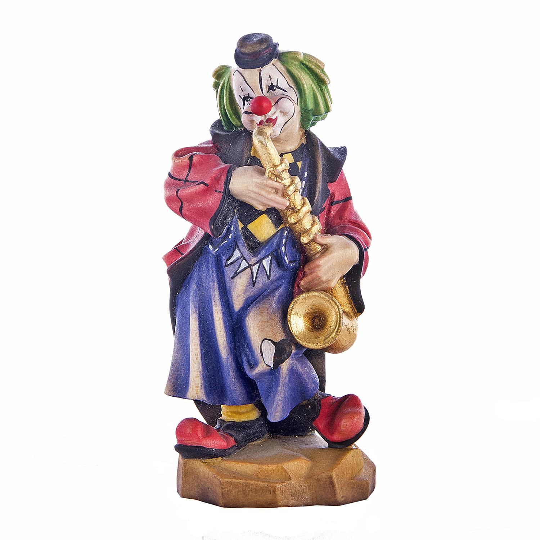 Клоун-саксофонист