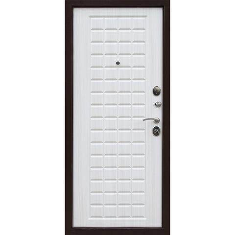 Входная дверь Т 100 (белый ясень).. ЦЕНА - С УСТАНОВКОЙ!