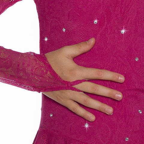 Платье «Ажур-Red» (ПОД ЗАКАЗ)