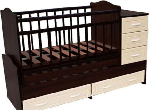 Кровать-трансформер маятник поперечный