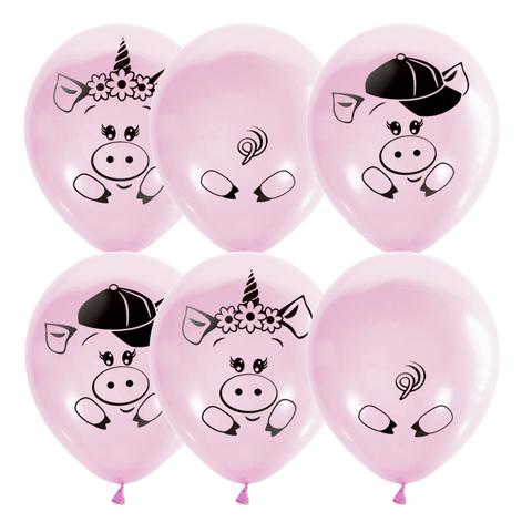 Воздушные шары Хрюшки