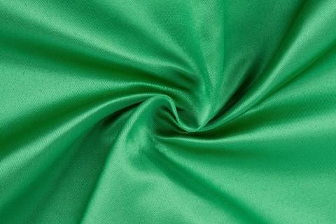 Атлас ткань Дюпон (зеленый) №9