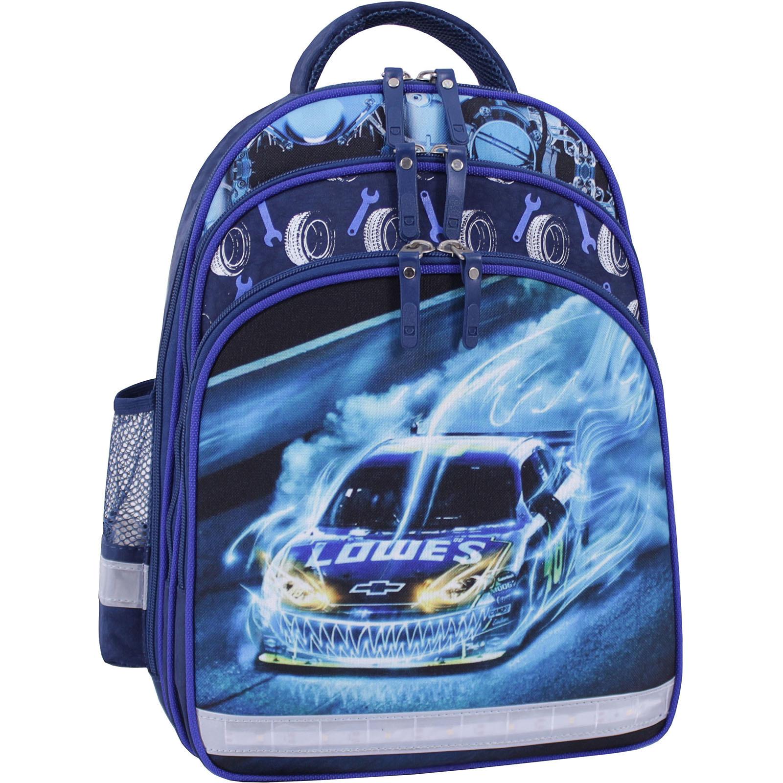 Детские рюкзаки Рюкзак школьный Bagland Mouse 225 синий 555 (0051370) IMG_0041_суб.555_.JPG