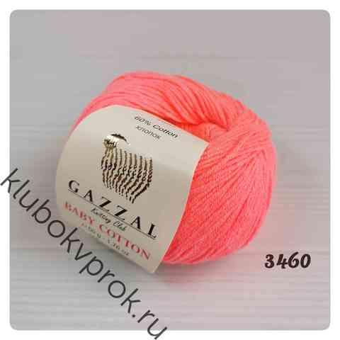 GAZZAL BABY COTTON 3460, Розовый неон