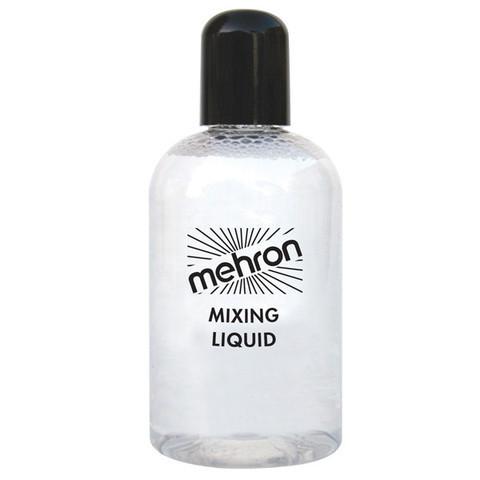 MEHRON Жидкость для фиксации блесток, пигментов, рассыпчатых теней Mixing Liquid, 133 мл