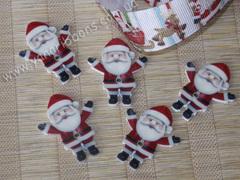 Плоский декор Руки вверх, Санта