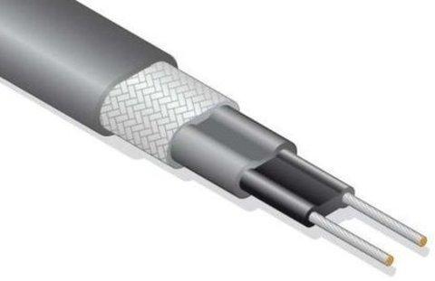 Саморегулирующийся Саморегулируемый нагревательный кабель 24 Вт с экраном SRL 24-2 CR Обогрев труб кровли водостоков EASTEC (ИСТЭК) Греющий кабель.. EASTEC SRL 24-2 CR