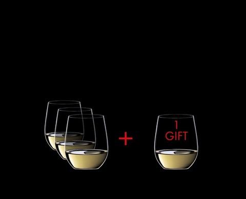 Набор из 4-х бокалов для вина Viognier/Chardonnay  Pay 3 Get 4 320 мл, артикул 7414/05. Серия O Wine Tumbler