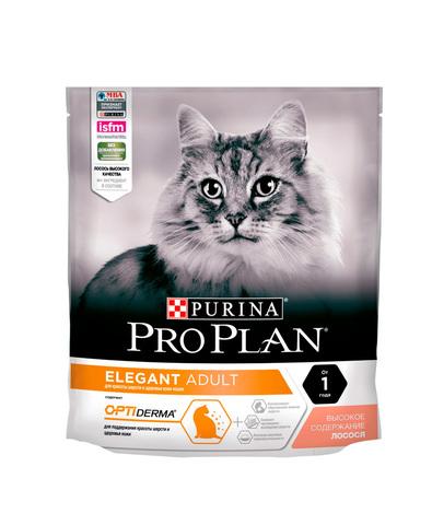 Pro Plan сухой корм для взрослых кошек для шерсти (лосось) 400 г