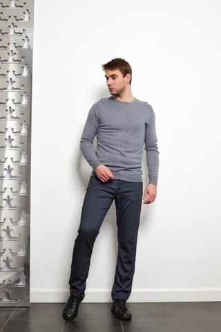 OLYMP Level 5 BODY FIT Джемпер меланжевый с шелком