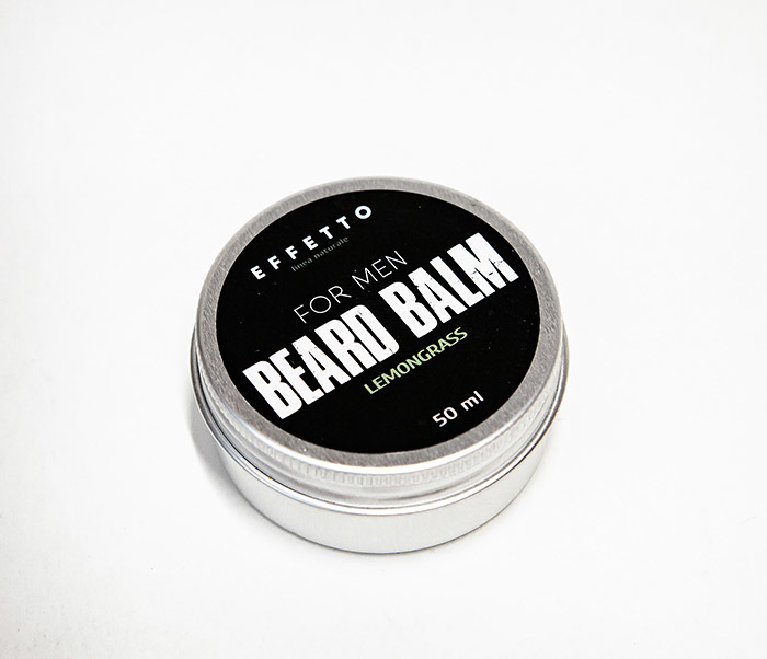CARE181-2 Бальзам для бороды EFFETTO «Lemongrass» (50 мл) фото 02