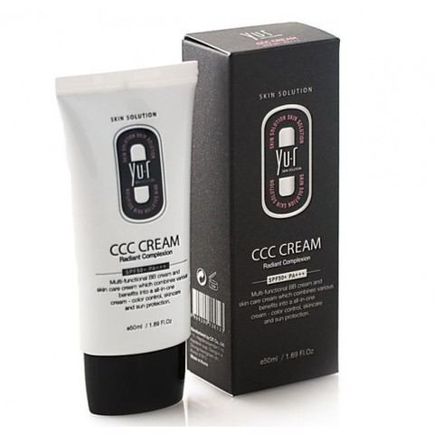 Yu.r CCC Cream Radiant Complexion SPF50+ MEDIUM Многофункциональное тональное средство – натуральный тон
