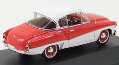 Wartburg 311-3 Coupe orange-cream 1958 IST052 IST Models 1:43