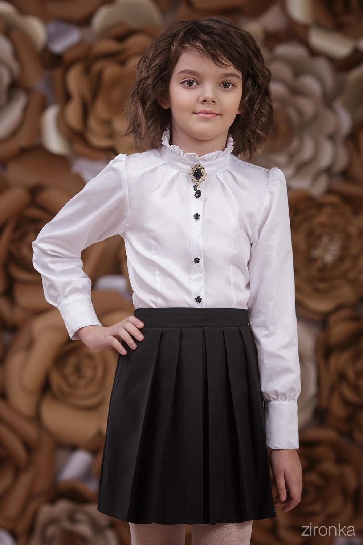 Юбка черная для девочки 7503-1