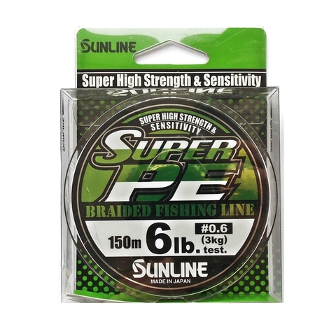 Шнур плетеный Sunline New Super PE 150m