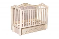 Кровать детская Антел Каролина-555 с мягкой спинкой