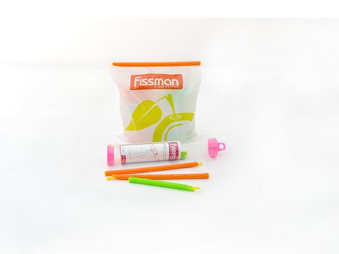 7646 FISSMAN Зажимы для пакетов 6 шт 19/12 см,  купить