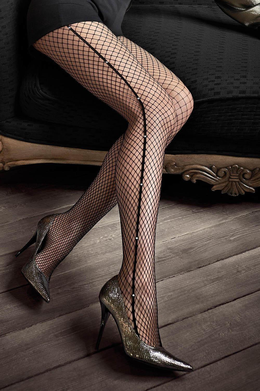 Элегантные колготки в сеточку Gucci G46