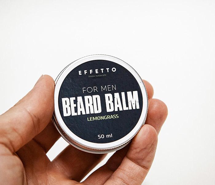 CARE181-2 Бальзам для бороды EFFETTO «Lemongrass» (50 мл) фото 03