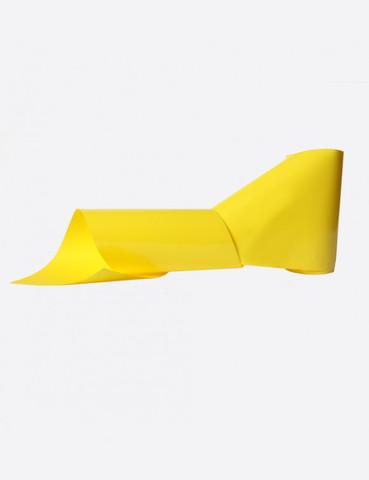 Фольга матовая желтый 1м х 5см 173