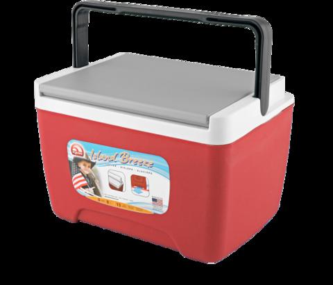 Изотермический пластиковый контейнер Igloo Island Breeze 9 красный