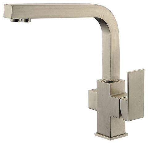 Смеситель KAISER Sonat 34044-5 серебро для кухни под фильтр
