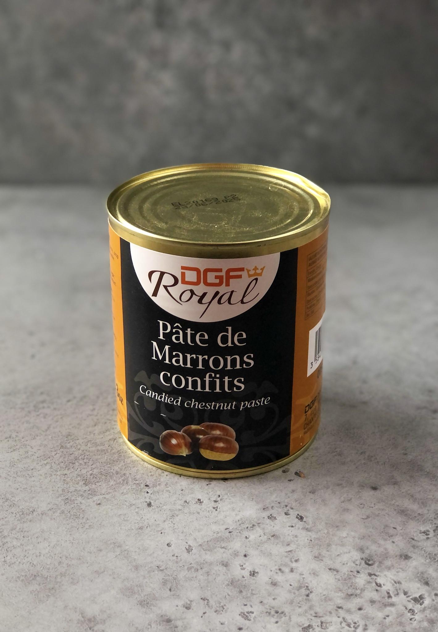 Каштановая Паста DGF Royal, Франция, 1 кг