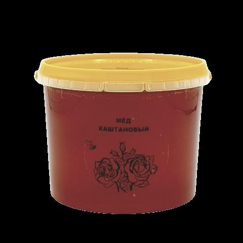 Мёд натуральный КАШТАНОВЫЙ, 1 кг