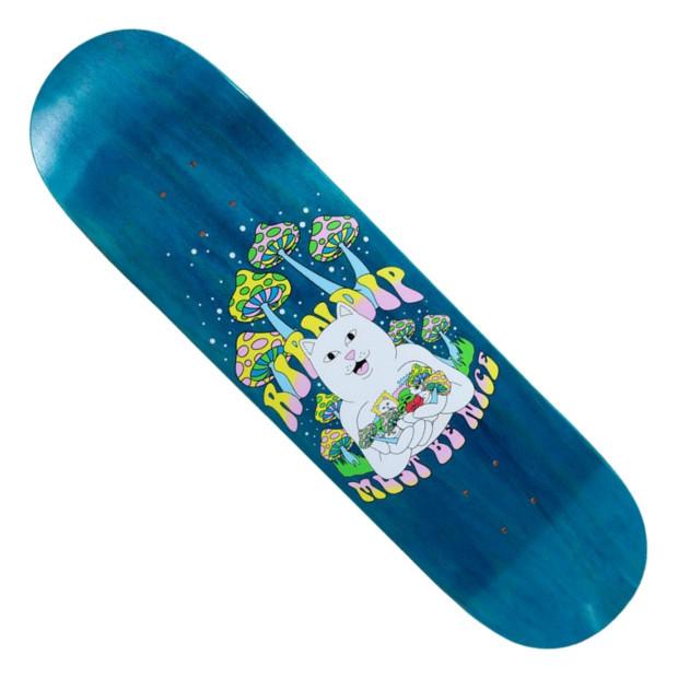 Дека для скейтборда RIPNDIP Trippy Treatz (Navy)