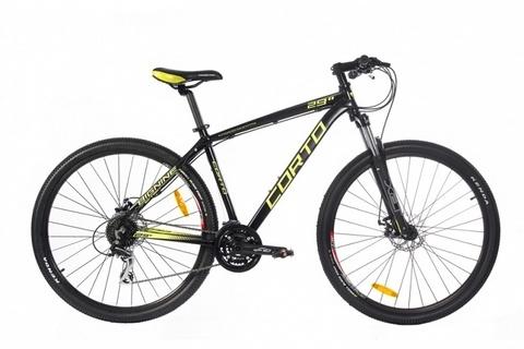 горный велосипед Corto FC229 желтый
