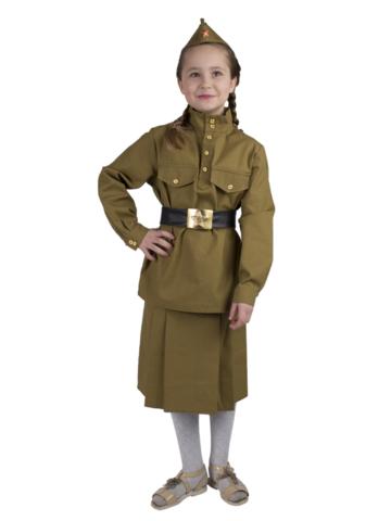 Костюм Солдатка детский (саржа)