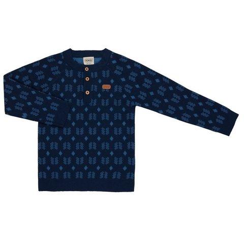 Свитер Voksi Double Knit Nordic Blue