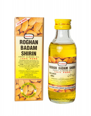 Миндальное масло Roghan Badam Shirin 100мл