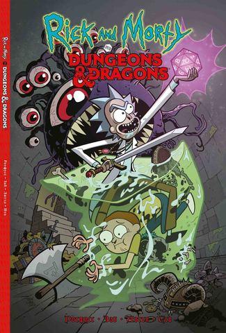 Рик и Морти против Dungeons & Dragons (Б/У)