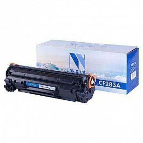 NVPrint CF283A Картридж для HP LJ ProM125nw/M125rnw/M127fw/M127fn (1500 стр.) черный, с чипом