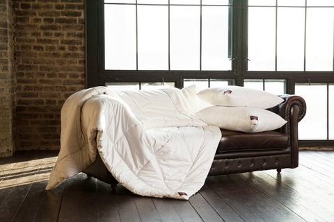 Одеяло пуховое стеганое всесезонное 150x200 «Cashmere Grass»