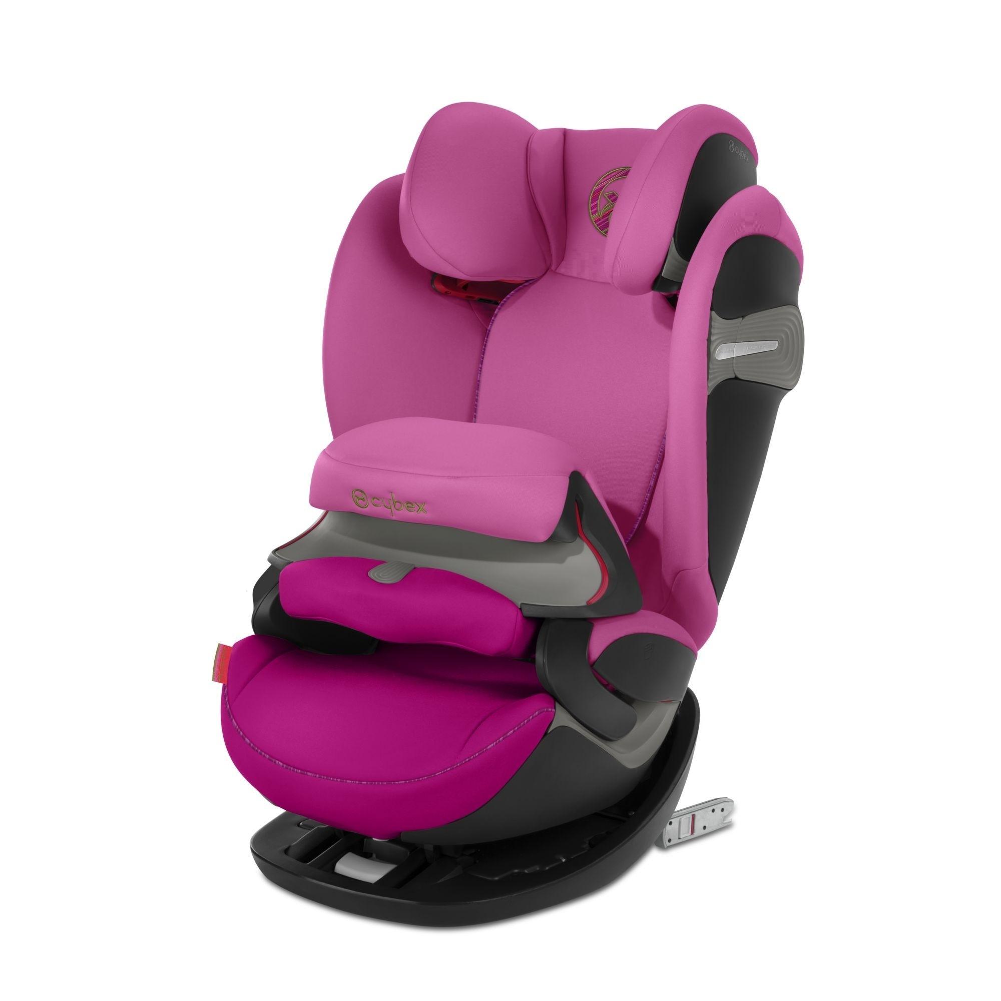 Автокресло 1/2/3 Cybex Pallas S-Fix Fancy Pink