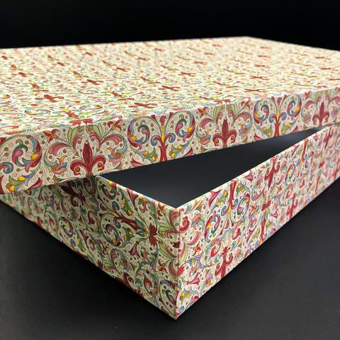 Коробка подарочная Рубашка Красная лилия, 1