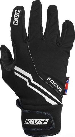 Картинка перчатки лыжные KV+ Focus black - 1