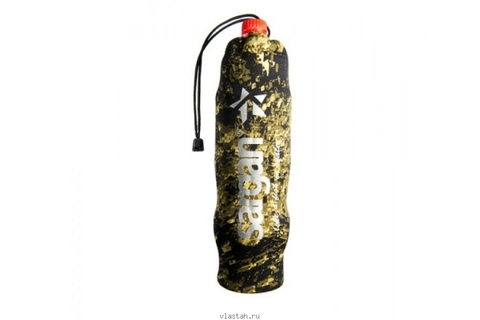 Чехол SARGAN под бутылку 1.0-1.5 л, камуфлированный неопрен RD2.0 5мм, на затяжке – 88003332291 изображение 1