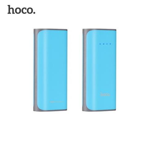 Power Bank HOCO B21 Tiny Concave pattern 5200mAh, blue