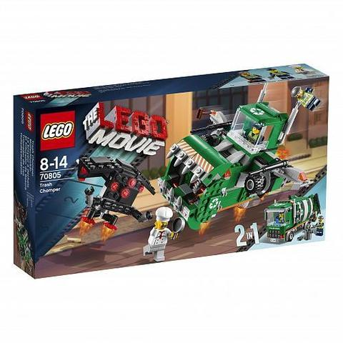 LEGO Movie: Измельчитель мусора 70805 — Trash Chomper Play — Лего Муви Фильм