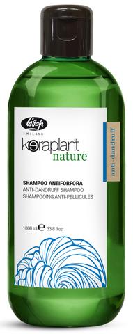 Очищающий шампунь для волос против перхоти - Lisap Keraplant Nature Anti-Dandruff Shampoo 1000 мл