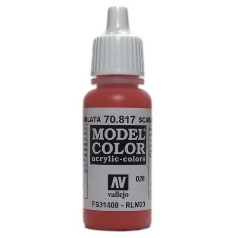 Model Color Scarlet 17 ml.